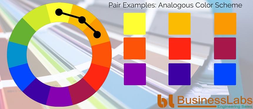 Illustrating Analogous Color Scheme