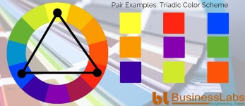 Illustrating Triadic Color Scheme