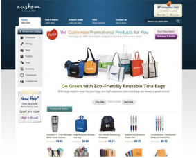 Color combination of Custom Web design