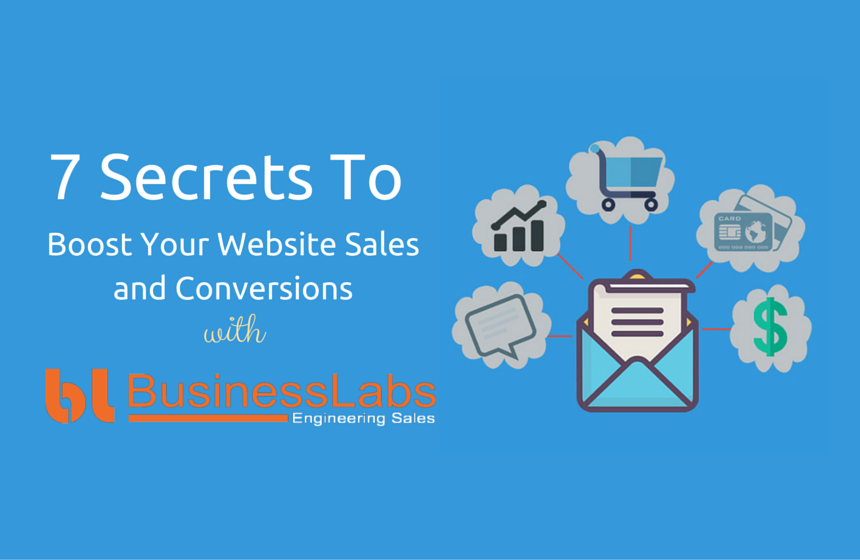 Secrets to boost your website sales and website conversions